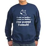 One pound fish Sweatshirt (dark)