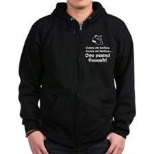 One pound fish Zip Hoodie (dark)