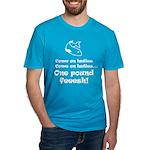 One pound fish Men's Fitted T-Shirt (dark)