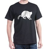 Raccoon Black T-Shirt
