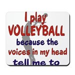 VOICES IN MY HEAD.png Mousepad