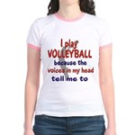 VOICES IN MY HEAD.png Jr. Ringer T-Shirt