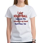 VOICES IN MY HEAD.png Women's T-Shirt