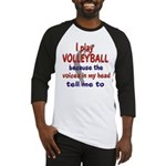 VOICES IN MY HEAD.png Baseball Jersey