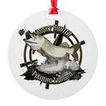 Fishing legend Round Ornament
