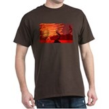 Kokopelli Creates Fire Energy T-Shirt