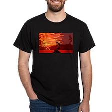 Kokopelli Creates Fire Energy T-Shirt