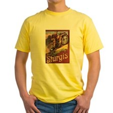 Old Sturgis Poster T-Shirt