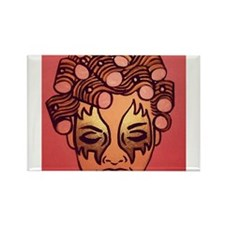 Wild Child Rollerhead Rectangle Magnet