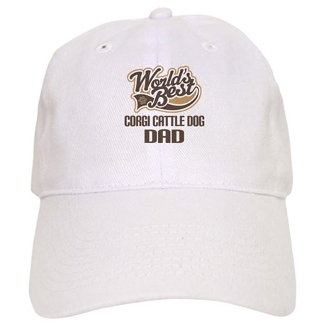 Corgi Cattle Dog Dad Cap