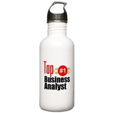 Top Business Analyst Water Bottle