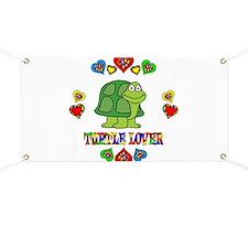 Turtle Lover Banner