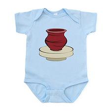 Clay Pottery Infant Bodysuit