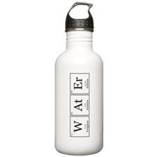 WAtEr [Chemical Elements] Sports Water Bottle