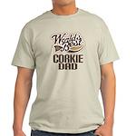 Corkie Dog Dad Light T-Shirt