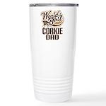 Corkie Dog Dad Ceramic Travel Mug