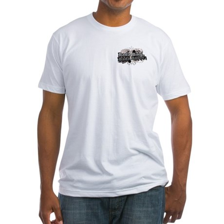 Bada Bing Boom Soprano's Saying Fitted T-Shirt
