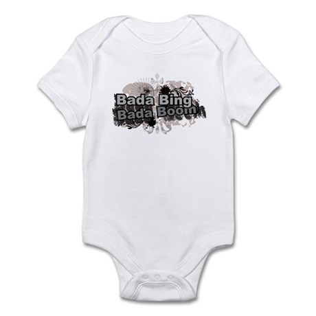 Bada Bing Boom Soprano's Saying Infant Bodysuit