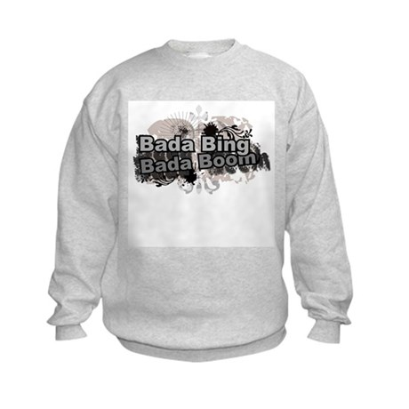Bada Bing Boom Soprano's Saying Kids Sweatshirt