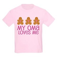 Oma Loves Me Gingerbread T-Shirt