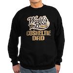 Cosheltie Dog Dad Sweatshirt (dark)