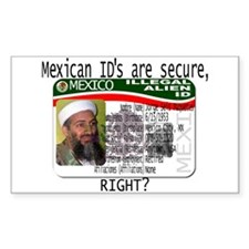 Osama Matriculas Consular Decal