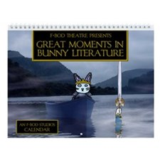 Great Moments in Bunny Literature Wall Calendar