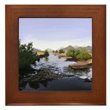 Scott River Framed Tile