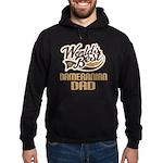 Dameranian Dog Dad Hoodie (dark)