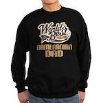 Dameranian Dog Dad Sweatshirt (dark)