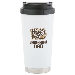 Dameranian Dog Dad Ceramic Travel Mug