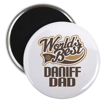 Daniff Dog Dad Magnet