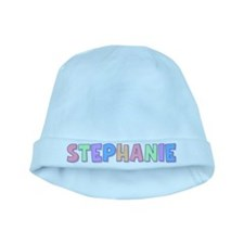 Stephanie Rainbow Pastel baby hat