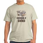 Doodle Dog Dad Light T-Shirt