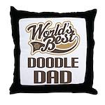 Doodle Dog Dad Throw Pillow