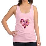 Heart of Kisses Racerback Tank Top