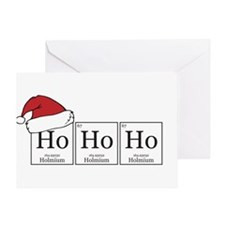 Ho Ho Ho [Chemical Elements] Greeting Card