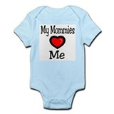 "My Mommies ""Heart"" Me Infant Bodysuit"