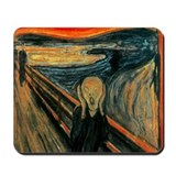 Unique Scream Mousepad