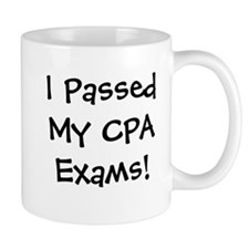 Passed CPA Exams Success Celebration Mug