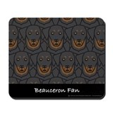 Beauceron Fan Mousepad