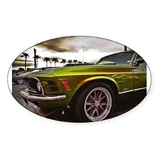 70 Mustang Mach 1 Decal