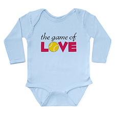 The Game Of Love Long Sleeve Infant Bodysuit