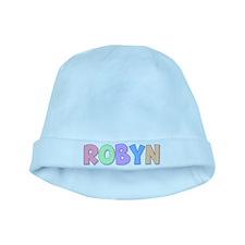 Robyn Rainbow Pastel baby hat