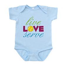 Live Love Serve Infant Bodysuit