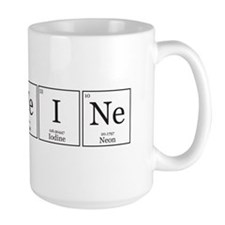 CaFFeINe [Chemical Elements] Mug