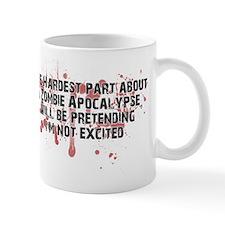 Zombie Apocalypse? Yes please! Small Mugs