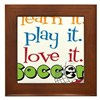Learn It Framed Tile