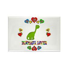 Dinosaur Lover Rectangle Magnet (100 pack)