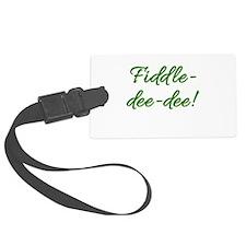 Fiddle-Dee-Dee! Scarlett Luggage Tag